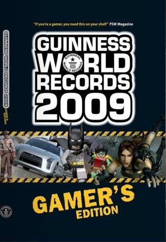 glimpse at guinness book of world records gamer u0027s edition 2009