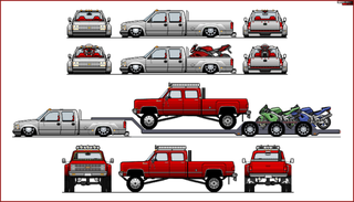 Illustration for article titled Can I Replace The Bro Truck On The Back Of The Dually With A Ratty Porsche 911?