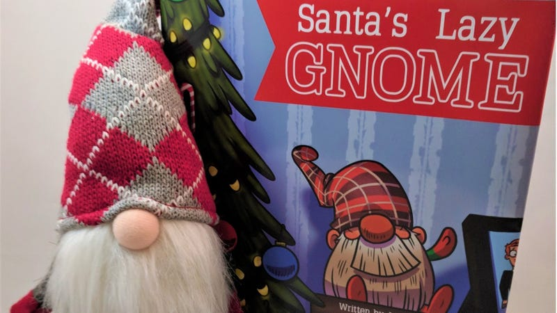 Illustration for article titled If You're Sick of Elf on the Shelf, Check Out Santa's Lazy Gnome