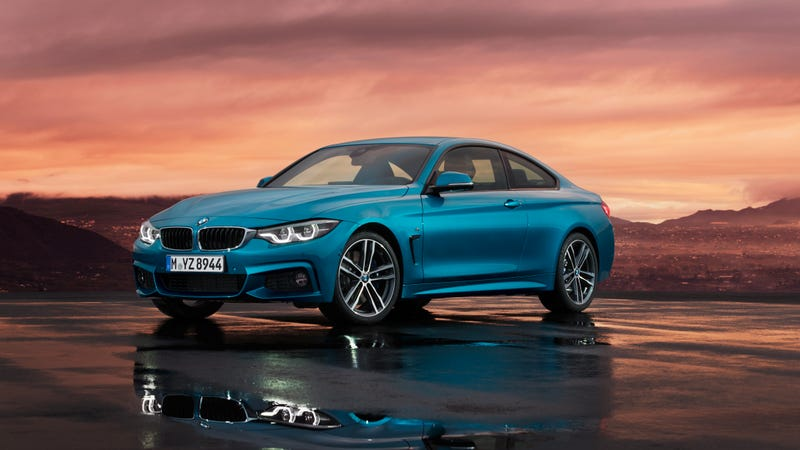 Illustration for article titled Here's The Updated BMW 4 Series, I Think