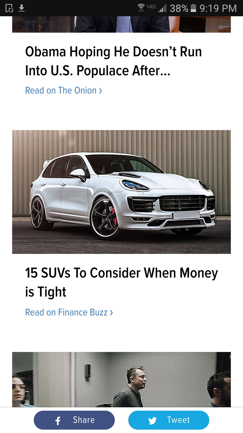 Illustration for article titled When money is tight, buy a Porsche.