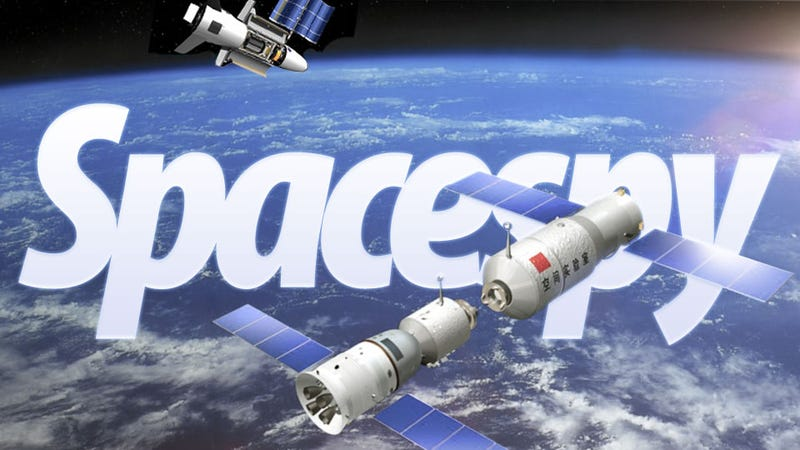 Illustration for article titled USAF Military Shuttle Is Chasing China's Space Station In Orbit