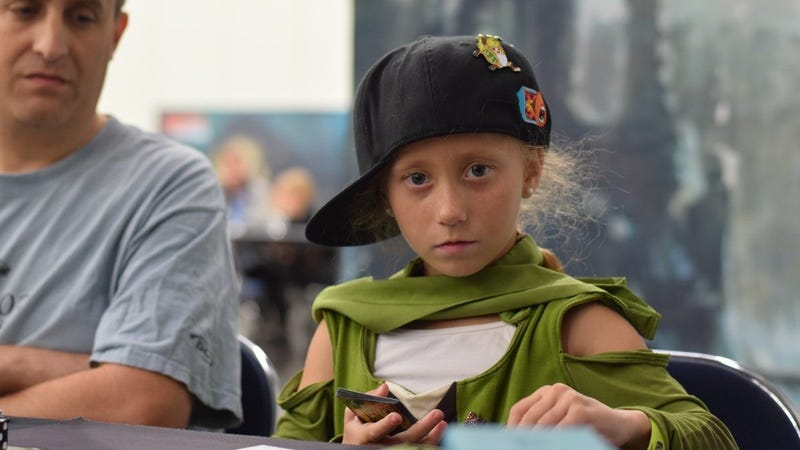 7-Year-Old Magic Prodigy Can't Shuffle Cards Yet But Can Kick Adults' Butts