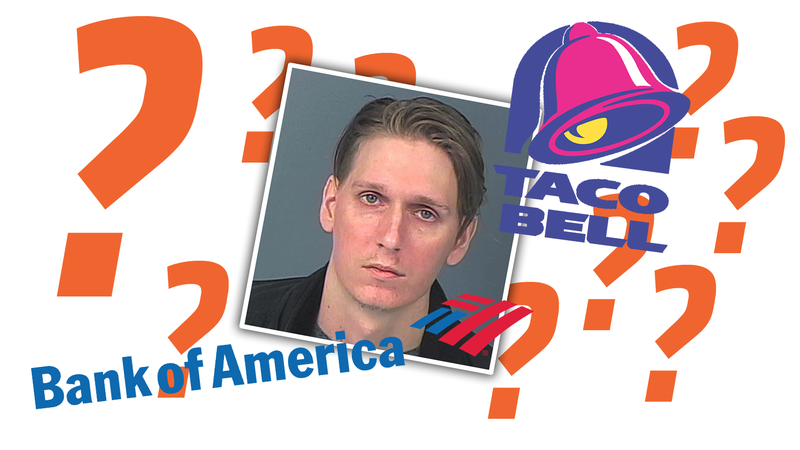 Illustration for article titled Hungry And Drunk Florida Man Arrested For DUI When He Mistook Bank For Taco Bell