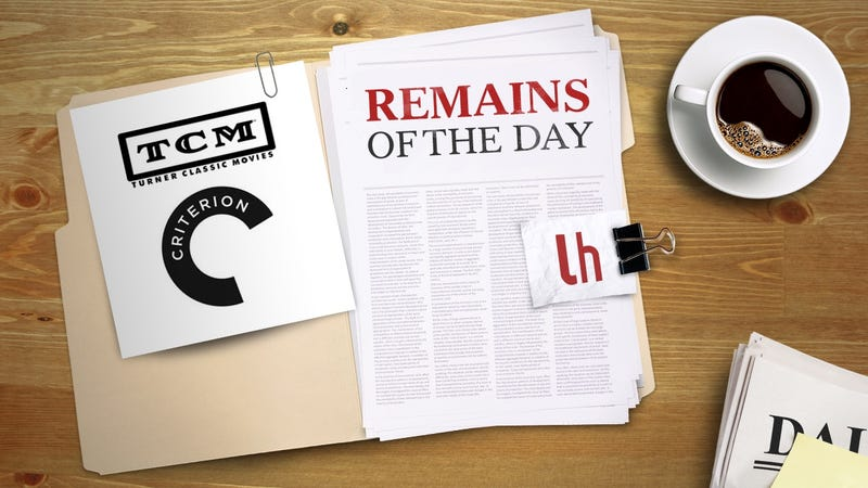 Illustration for article titled Remains of the Day: TCM and Criterion to Launch Classic Movie Streaming Service