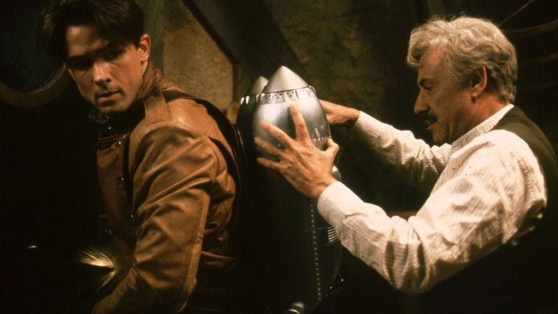 Billy Campbell and Alan Arkin in The Rocketeer (Photo: Walt Disney Pictures)