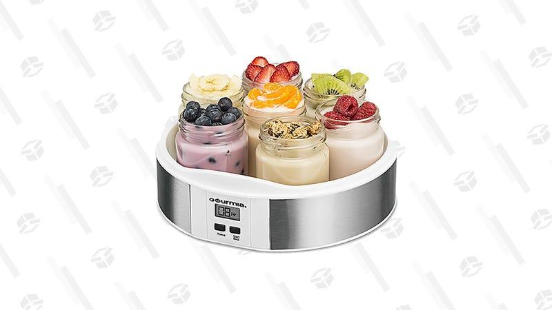 Gourmia Digital Yogurt Maker | $23 | Amazon