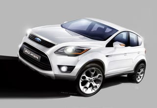 Illustration for article titled Report: Ford Considering C-Max, Kuga Crossover for US Market