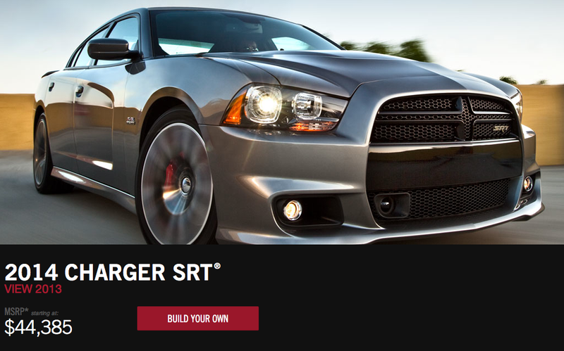 "Illustration for article titled Charger SRT gets a price drop, says ""Lol, Chevy SS?"""