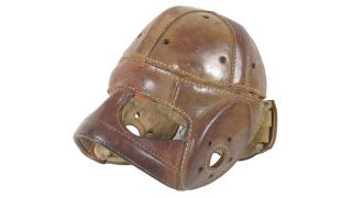 Illustration for article titled 12 Helmets from the Dark Ages of Football