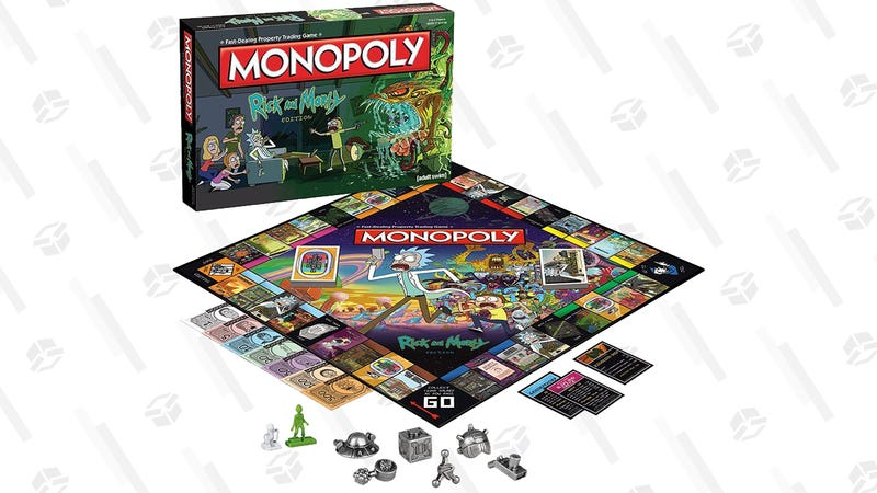 Monopoly Rick and Morty Board Game | $23 | Amazon