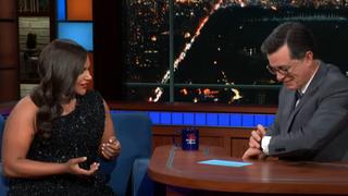 Mindy Kaling, Stephen Colbert
