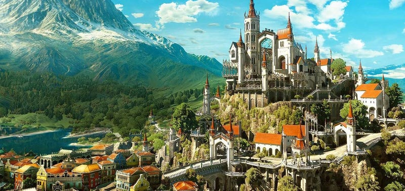 Illustration for article titled How A Witcher 3 City Was Built