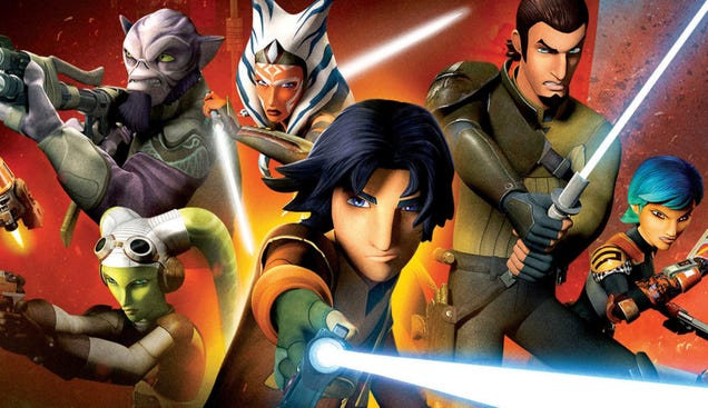 Star Wars Rebels Ended One Year Ago, So Let s Celebrate the Ride
