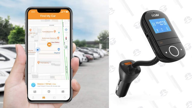 Anker s New Bluetooth FM Transmitter Also Charges Your Phone and Finds Your Car