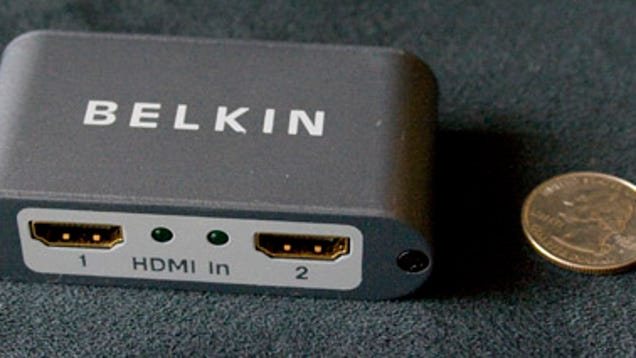 Belkin HDMI Switch 4-In/1-Out Black Review