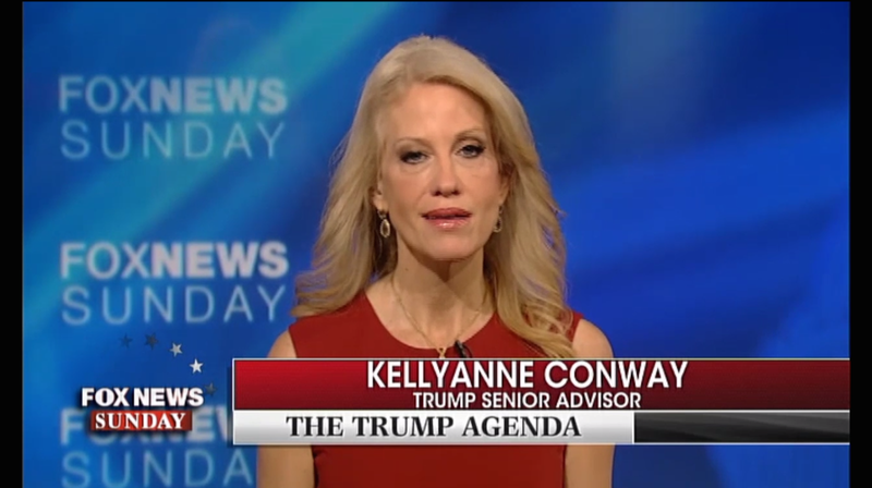 Kellyanne Conway tells Sen. Harry Reid to be 'very careful'