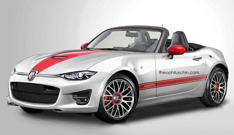 Illustration for article titled Prediction: The Fiat-MX-5 will be the one to buy