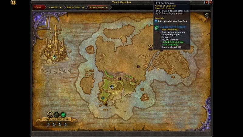 Taking The Battle To The Burning Legion In World Of Warcraft