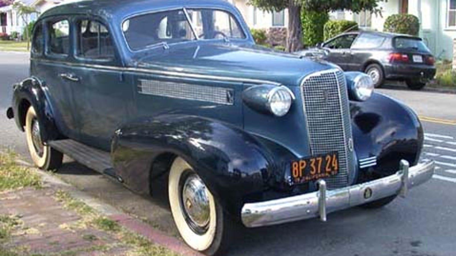 1937 Cadillac V8 50s Engine