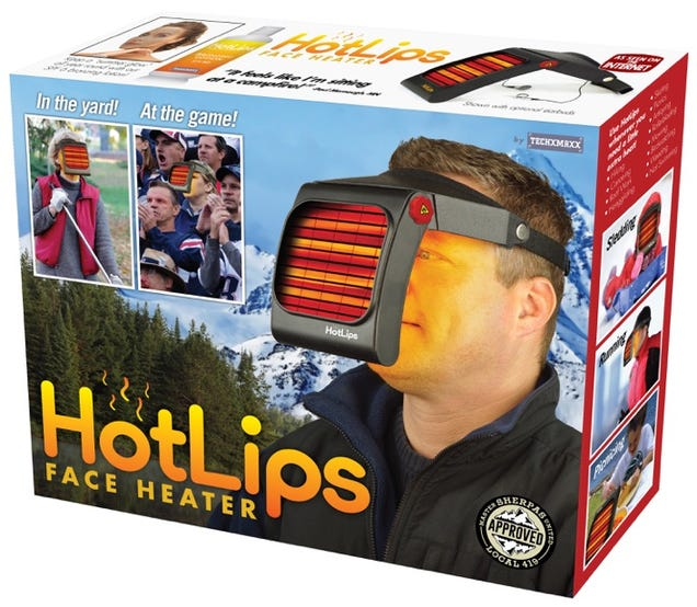 This prank face heater should be real