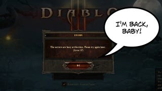 """Illustration for article titled Diablo III's Error 37: """"Don't Call It A Comeback!"""""""