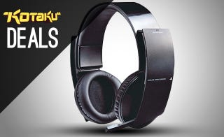 Illustration for article titled Sony 7.1 Headset, PC Pre-Orders, PSN Update For Real This Time [Deals]