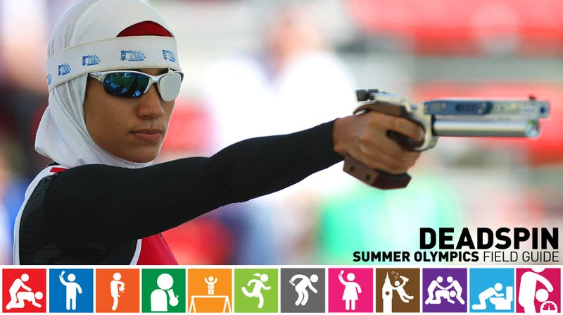 Illustration for article titled Olympics Field Guide: Aya Medany, The Only Athlete In A Hijab