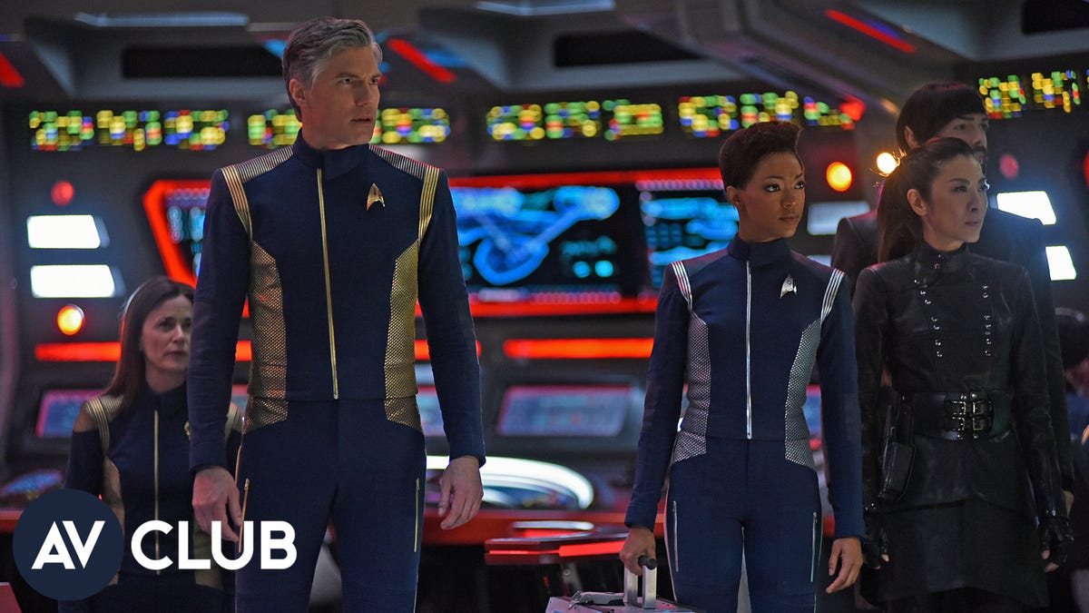The cast of Star Trek: Discovery make plans to go into space