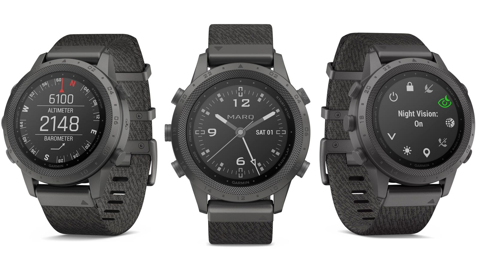 Garmin Adds a Tacticool Military-Style Option to Its Luxury Smartwatch Line