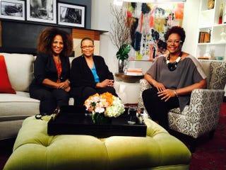 Benilde Little, Terrie Williams and Harriette ColeHarriette Cole Media