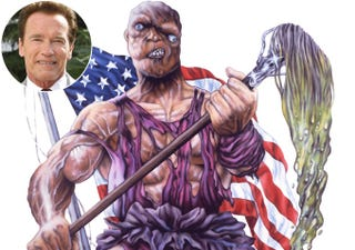 Illustration for article titled Governor Schwarzenegger rumored to be in talks about playing...