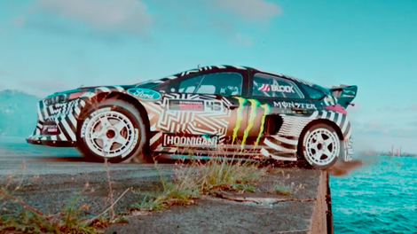 Here's All of Ken Block's Gymkhana Cars, From a 2005 Subaru WRX STi to a 2017 Ford Focus RS