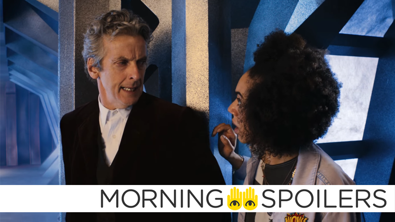 Illustration for article titled More Rumors About Peter Capaldi's Future on Doctor Who