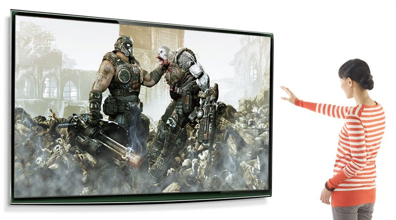 Illustration for article titled Report: Gears of War Getting Kinect Control [Update]