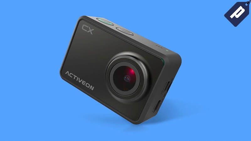 Illustration for article titled Save 60% On The ActiveonCX 1080p WiFi Action Camera ($40)