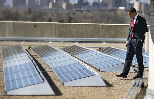 White House Roof Gets Solar Panels Until A Republican