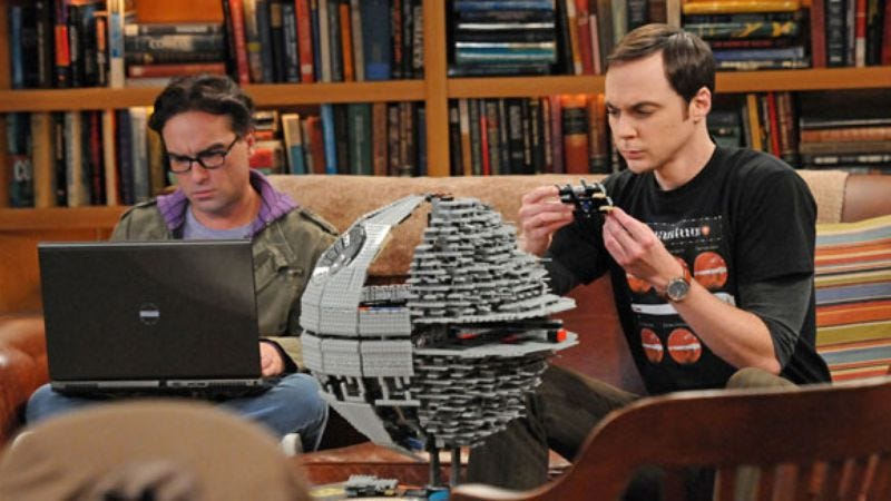 Illustration for article titled The Big Bang Theory to celebrate Star Wars with Bob Newhart for some reason