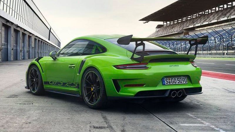 The 2018 Porsche 911 GT3 RS Now Gets 520 HP From Its Naturally Aspirated Flat Six