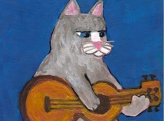 Illustration for article titled A macskán zenélésnél kevés viccesebb dolog volt ma a neten