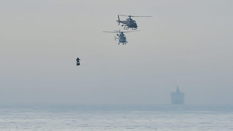 Illustration for article titled Sound the alarms: That French hoverboard supervillain has crossed the English Channel
