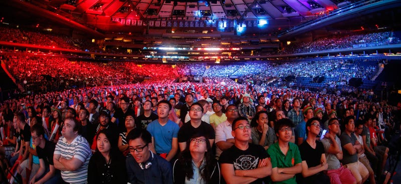 Illustration for article titled Pics Of A Massive Weekend In eSports