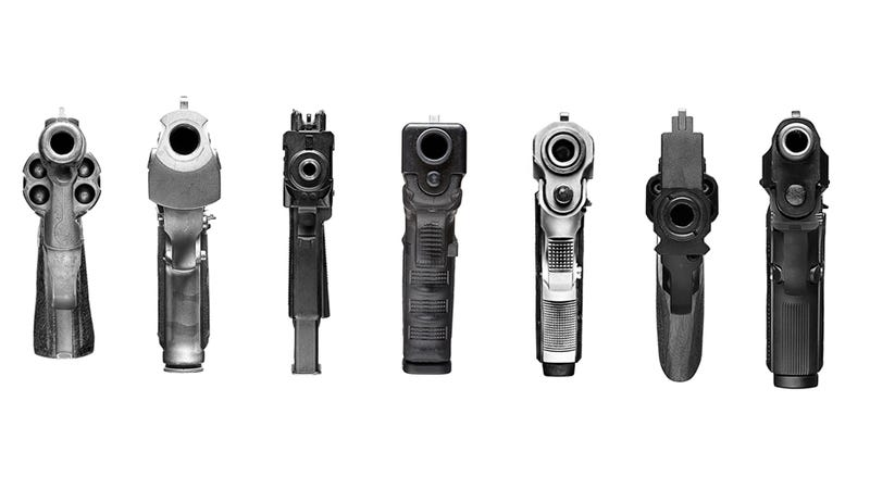 Illustration for article titled What Guns Look Like Point Blank