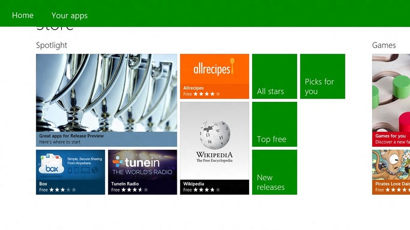 Illustration for article titled Windows 8 Will Now Offer Desktop Apps In the Windows Store...Sort Of