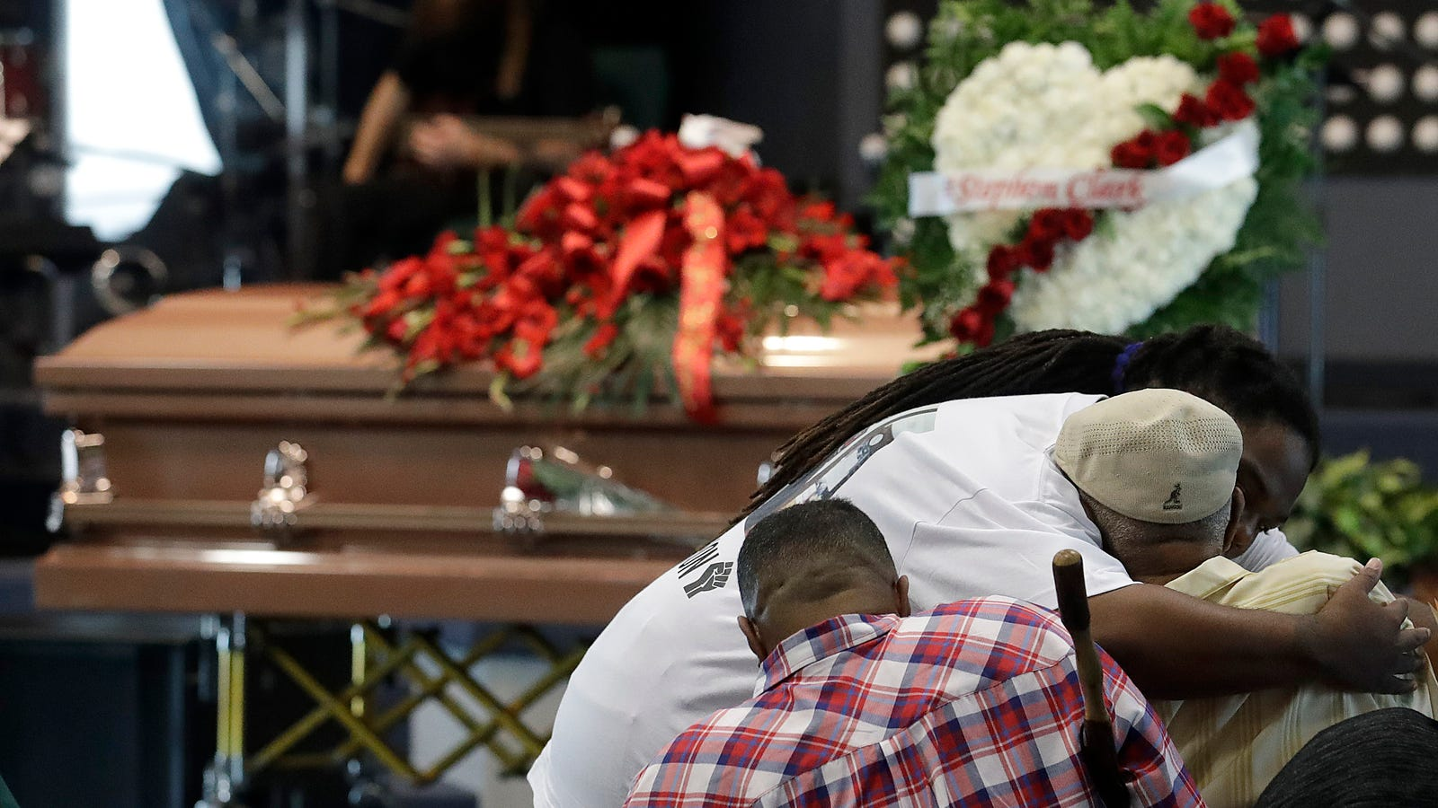Stephonclark Funeral Service Wrought With Emotion Honors A Young