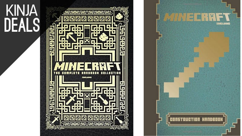Illustration for article titled Today's Best Media Deals: Hardcover Minecraft Guides, Life, and More