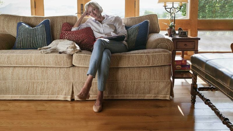 Illustration for article titled Woman Fulfills Manifest Destiny Of Hardwood Floor Throughout Home