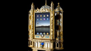 Illustration for article titled This Absurdly Ornate iPad Dock Is Fit For a Czar
