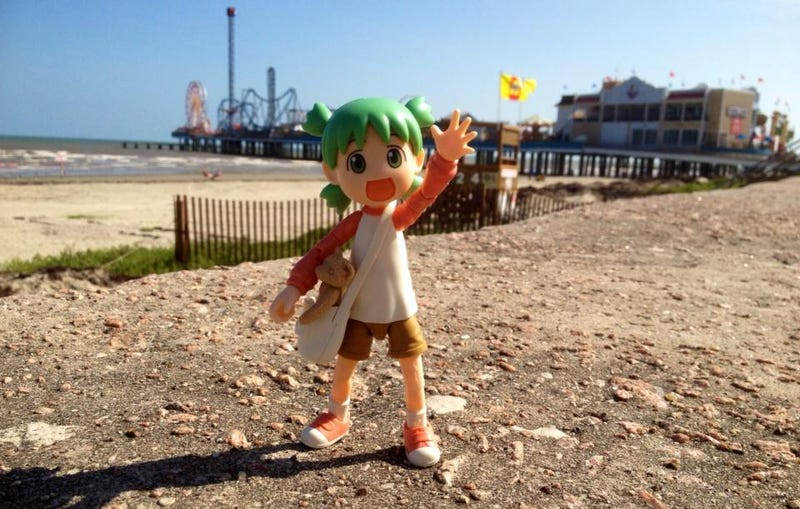 Illustration for article titled Yotsuba & the American Southwest!