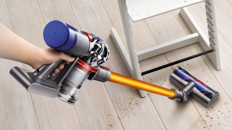 Illustration for article titled Dyson Just Fixed Everything Wrong With Its Cordless Vacuum
